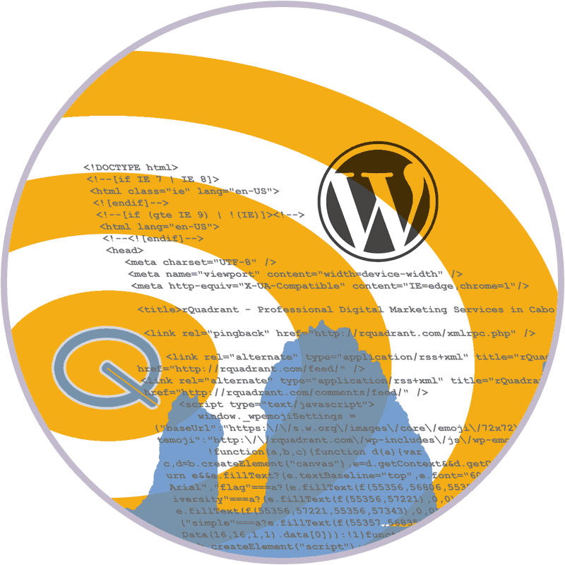 wordpress html css and script code